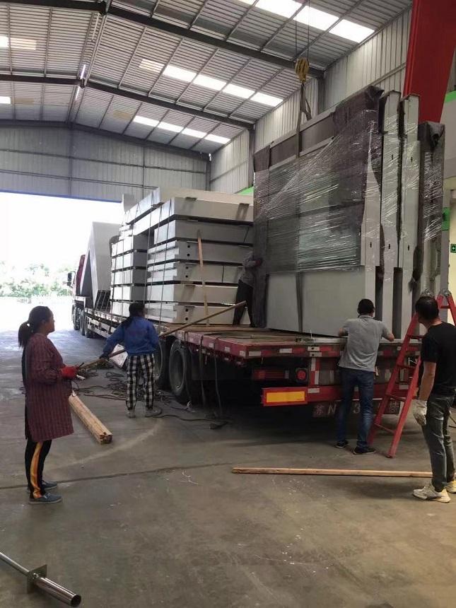 【2021年6月1日】上海候车亭项目2021年第十车发货通