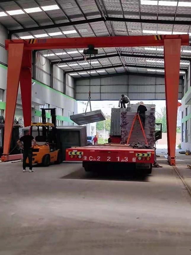 【2021年6月5号】三亚公交候车亭项目第二车发货通知