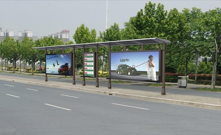 【美城街具】户外公交站台广告的优势介绍!